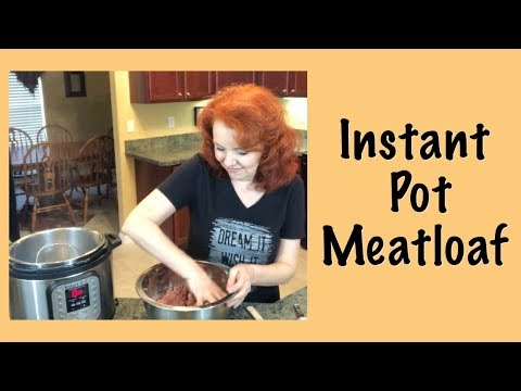 Quick & Easy Meatloaf in the Instant Pot includes Recipe