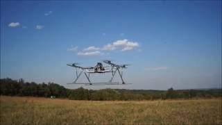 Первые полеты универсальной беспилотной платформы
