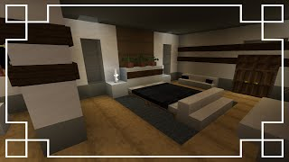 ⚒️[Minecraft] : How To Make A Bedroom