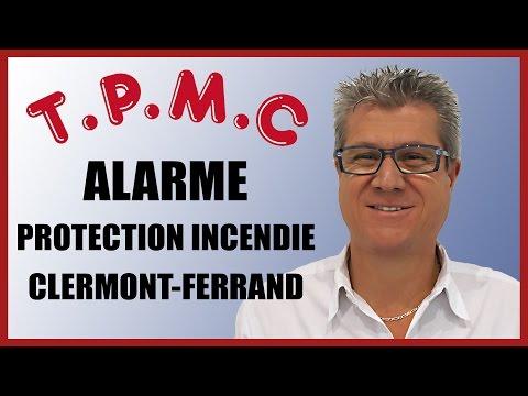 Alarme Clermont Ferrand : TPMC