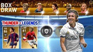 Black Ball Trick in LEGENDS English Clubs Box Draw | PES