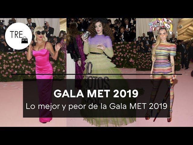 Los MEJORES y PEORES VESTIDOS de la GALA MET 2019 de Nueva York | Trendencias