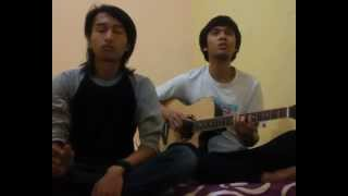 all american rejects - straitjacket feeling (cover song by adji and irfan)