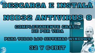 descargar gratis eset nod32 antivirus 8 full en español 64 bits