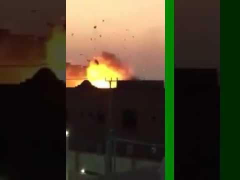 فيديو #محاصره_ارهابيين_بجدة بحي الحرزات 1