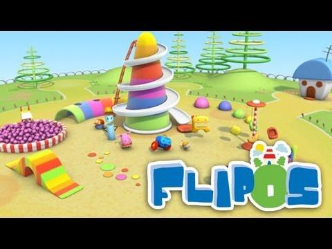La plaza de Juegos - Video Musical de Los Flipos. Canción infantil animada