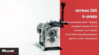 Drenth Gearboxes 265 6 speed
