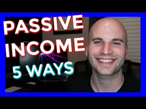 How To Make Passive Income Online 2018 (5 Real Ways From Someone Who's Made $70k In 30 days)