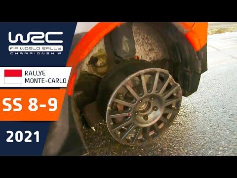 WRC 2021 トヨタのエバンスがトップ 開幕戦のラリーモンテカルロ SS8-9ハイライト動画