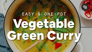 1-Pot Vegetable Green Curry | Minimalist Baker Recipes