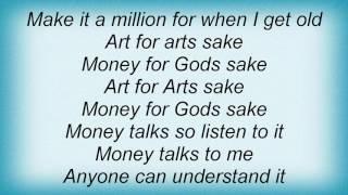 10cc - Art For Arts Sake Lyrics