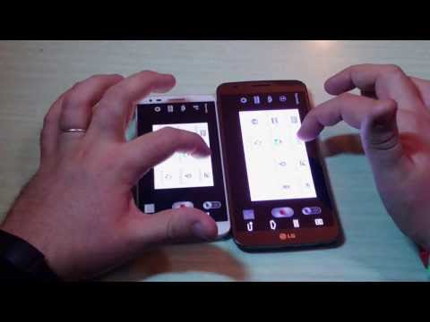 LG G2 Android 4.4.2 vs LG G Flex - Video Confronto
