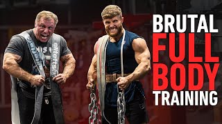 What A BRUTAL Full Body Workout Actually Looks Like (ft. The Mountain Dog)