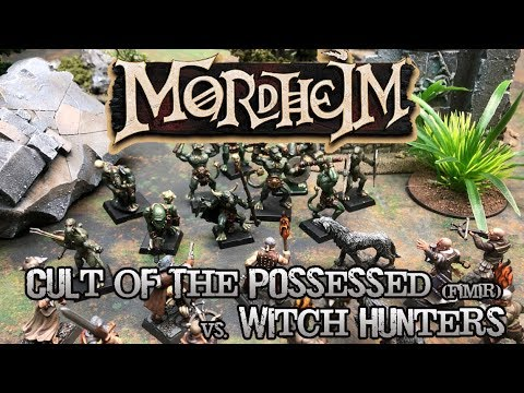 #TBT Mordheim: City of the Damned Battle Report - Swampland Ambush!