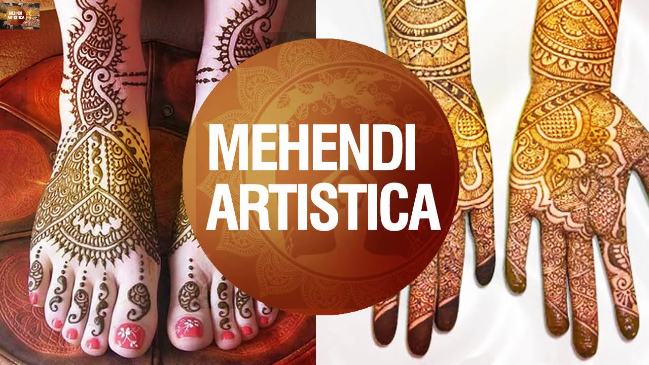 bridal mehndi design for wrist by mehndi artistica