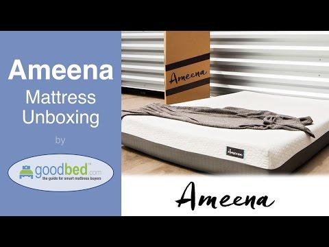 Ameena Mattress Unboxing (VIDEO)