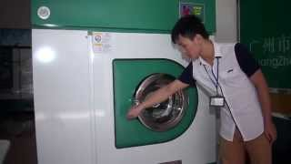 Step by Step Instructions of Operating the Commercial Dry Cleaning Laundry Machine