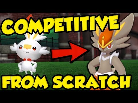 COMPETITIVE POKEMON FROM SCRATCH! Pokemon Sword and Shield Training