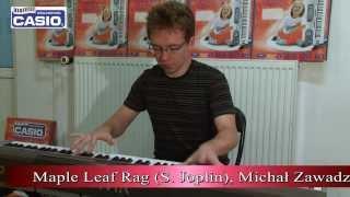 Maple Leaf Rag (S. Joplin), Michał Zawadzki - Szkoła Muzyczna Casio Tomaszów
