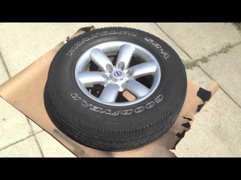 HOW TO Plasti Dip Your Wheels (Nissan Titan)