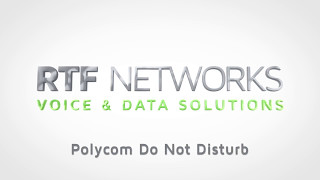 RTF Polycom - Do Not Disturb (DND)