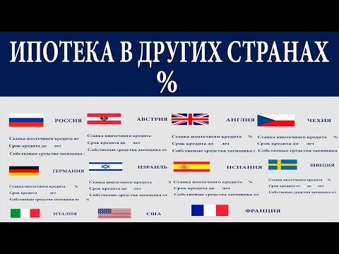 Ипотека в Европе и других странах. Какие там условия