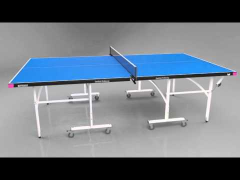 Butterfly Easifold Indoor Table Tennis Table - Video Presentation