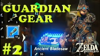 HOW TO GET ANCIENT GUARDIAN WEAPONS! Zelda: Breath of the Wild