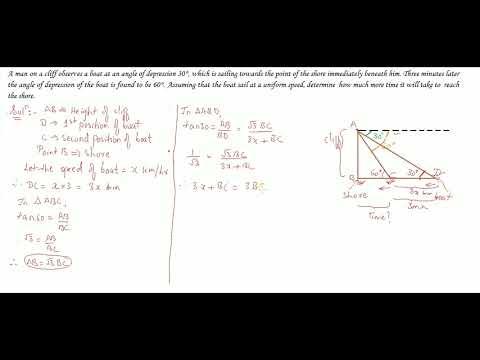 Trigonometry Part 55 (2) Class 10