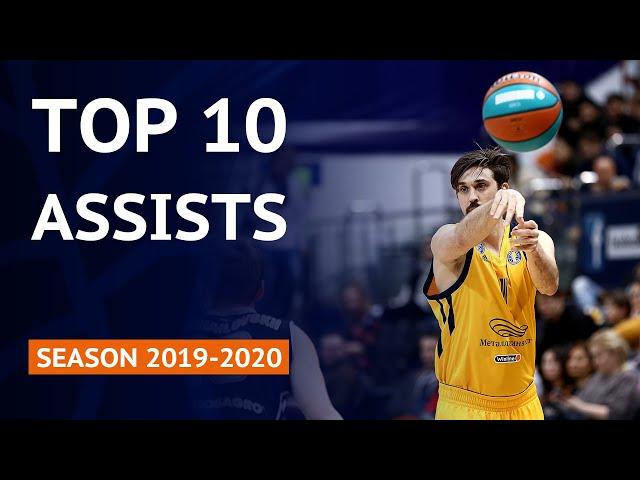 Top 10 Assists   VTB United League Season 2019-20