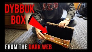 Opening a REAL Dybbuk Box from The Dark Web... Gone Horribly Wrong