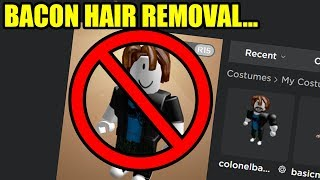 BACON HAIRS ARE BEING REMOVED from Roblox...
