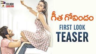 Vijay Deverakonda Geetha Govindam FIRST LOOK TEASER | Rashmika | Parasuram | Gopi Sundar | FAN MADE