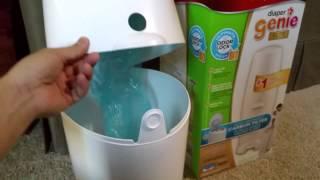 Playtex Diaper Genie Review & Demonstration