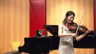 Eugene Ysaye - Sonate for violine solo No.4 Op.27 - Allemanda (1/3)