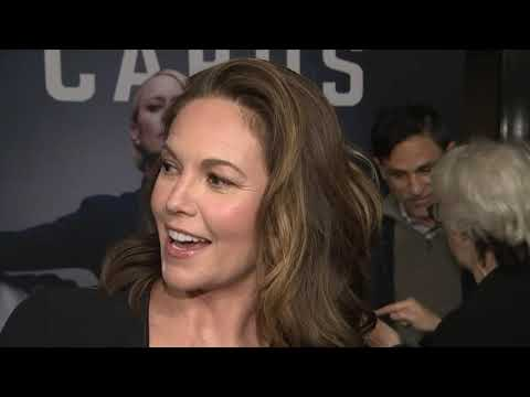 """At the premiere of the final season of """"House of Cards,"""" Robin Wright, Diane Lane, Greg Kinnear and Constance Zimmer talk continuing on without Kevin Spacey. (Oct. 23)"""