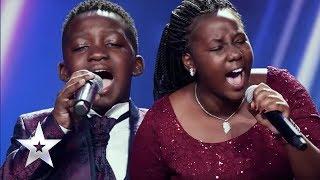 An electrifying performance from Esther & Ezekiel | East Africa's Got Talent