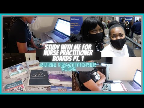Study with me for Pediatric Nurse Practitioner Board Certification Exam