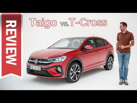 Neuer VW Taigo im Test: Wieder echte Tasten, Vergleich mit T-Cross, Cockpit, Sitzprobe & Details