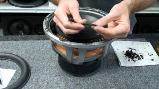 JL Audio 10W6 V2 Speaker Subwoofer Foam Repair Replace Speaker Foam Edge