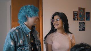 ¡MARIANA LE CANTA AL AMOR DE SU VIDA! | Monoz - Cover BLUE | Detrás de Cámaras
