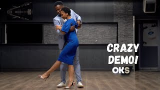 😲 Really Advanced Kizomba / UrbanKiz Move - JP & Stephy
