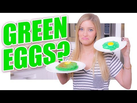 Green Eggs and Not Ham | St. Patrick's Day Breakfast