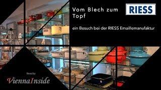 Riess Emaillemanufaktur - Vom Blech zum fertigen Topf