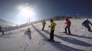 preview picture of video 'Skijanje - Reiteralm Schladming'