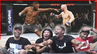 Jon Jones FIGHTS Dana White! CRAZY UFC 3 Tournament! - UFC 3 Gameplay