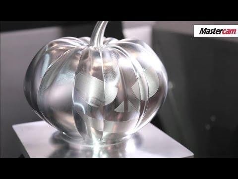 Mastercam 2020   Happy Halloween