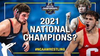 Way-Too-Early NCAA Wrestling Championship Predictions for 2021