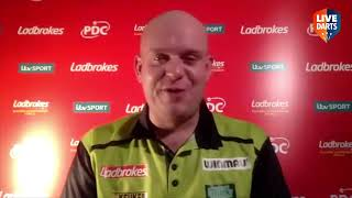 "Michael van Gerwen at Players Championship Finals: ""I'm not really impressed with the other players"""