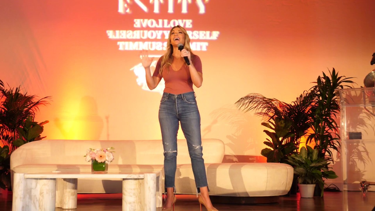 ENTITY Love Yourself Summit Heather on how to build Confidence